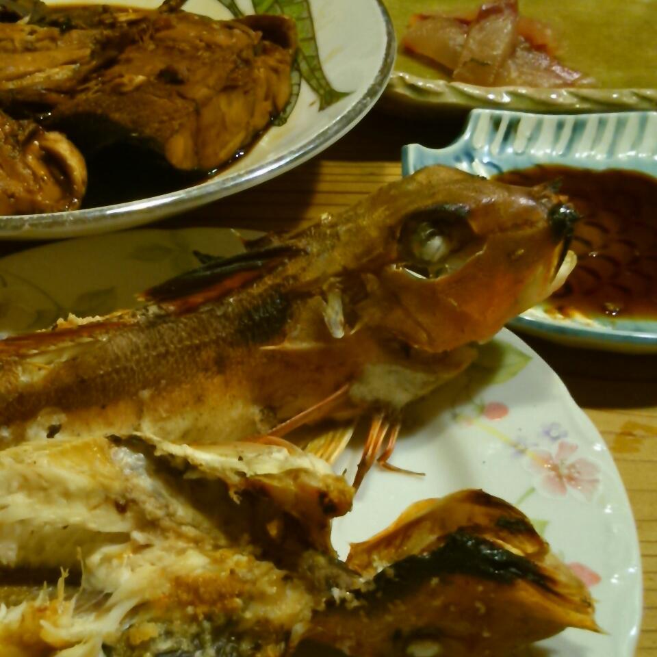 今夜は魚尽くし
